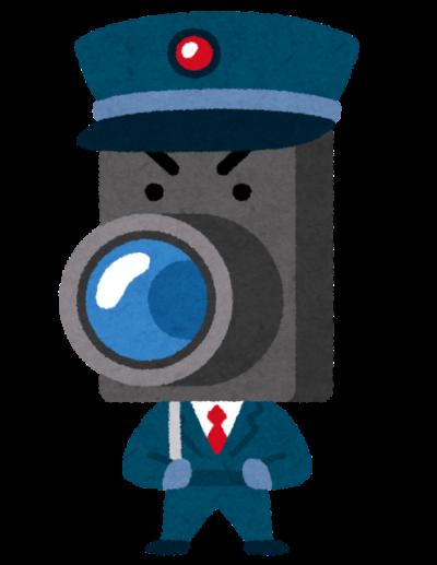 防犯カメラマン